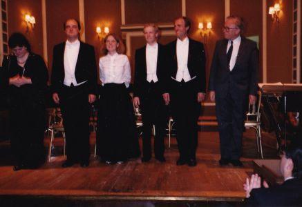 """Mein erstes Ensemble - Wr. G.F.Händel Verein mit Kammersänger Kurt Equiluz als Dirigent für """"Radamisto"""" und """"Xerxes""""!"""