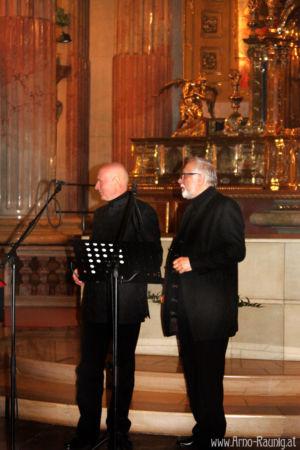 Arno Argos Raunig & Theodore Coresi 15.04.16 Konzert