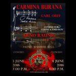 Carmina Burana with Arno Argos Raunig