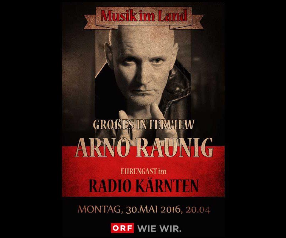 Großes Interview im Radio Kärnten ORF