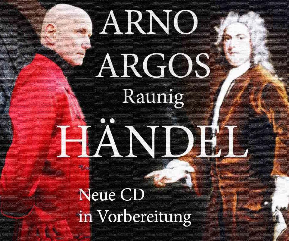 Arno Argos Händel neue CD