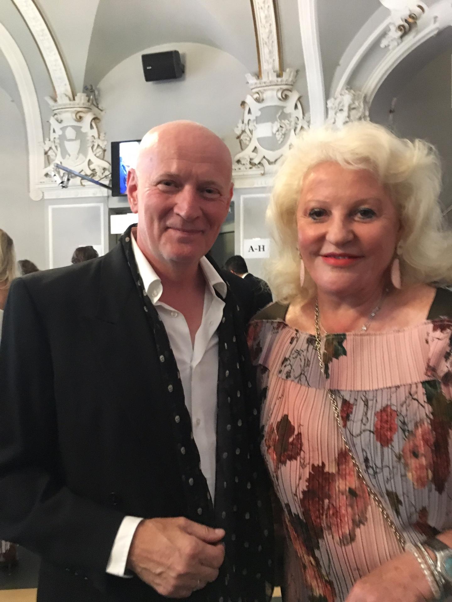 Arno Argos Raunig mit Marika Lichter