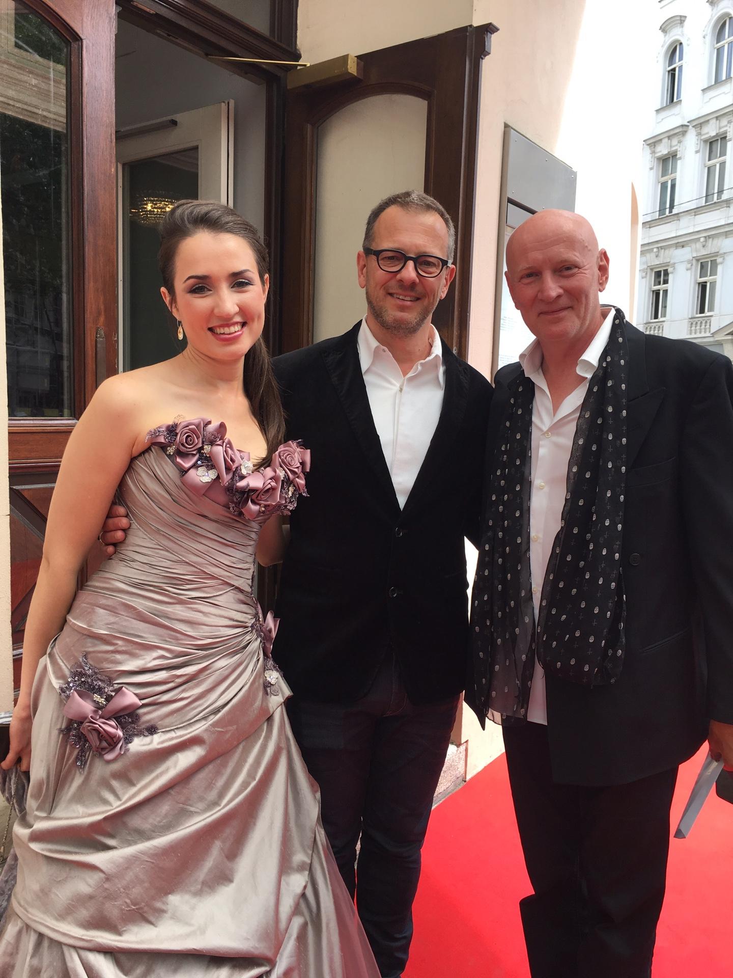 Arno Argos Raunig mit Bernd R. Bienert