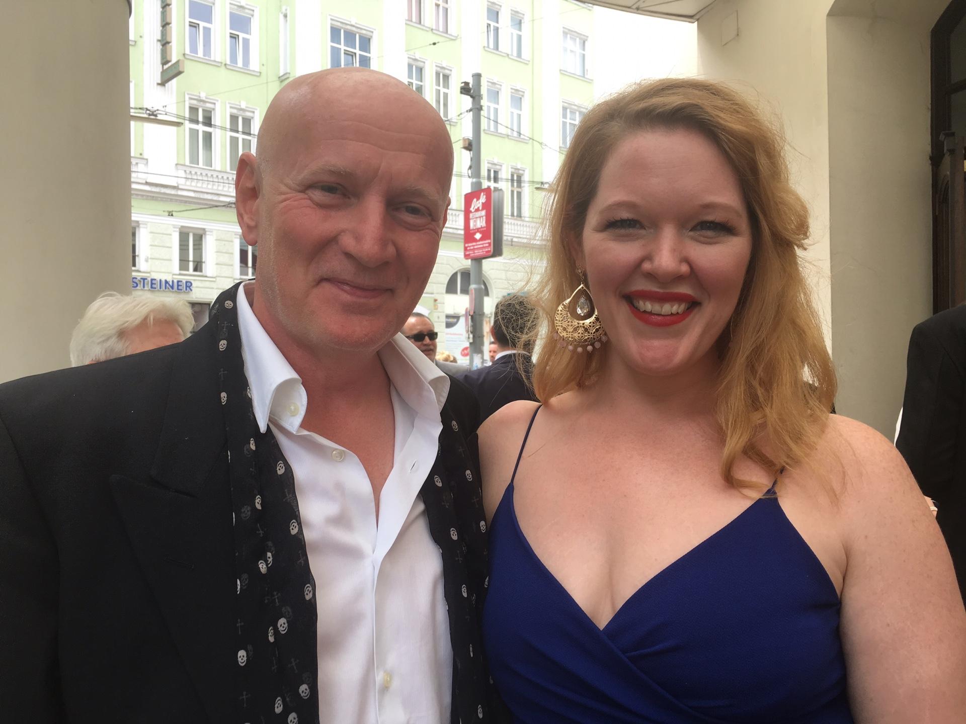 Arno Argos Raunig mit Annie Wie