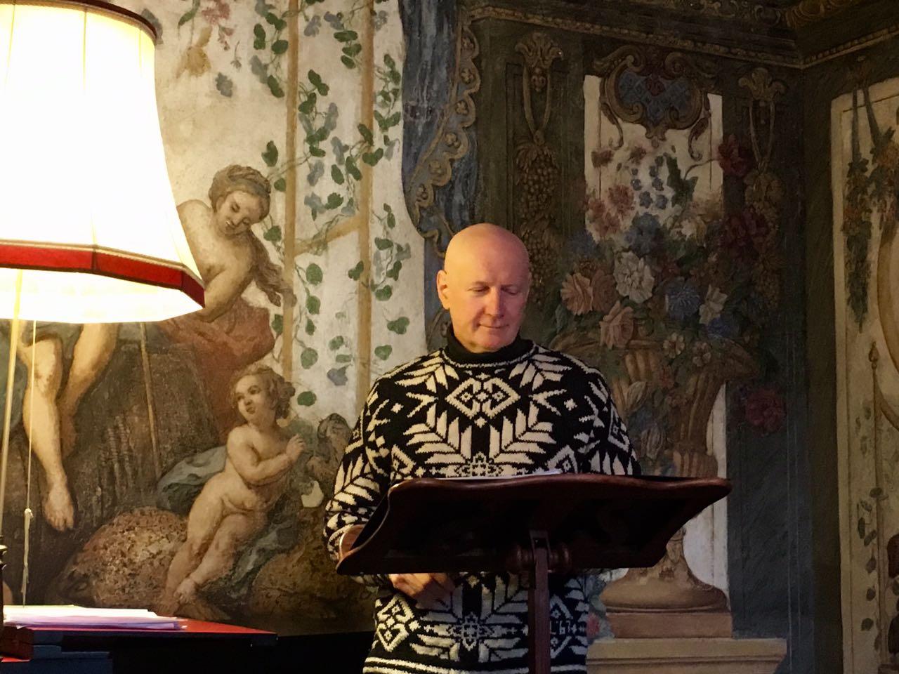 sopranist Arno Argos Raunig sala terrena Mozarthaus Vienna