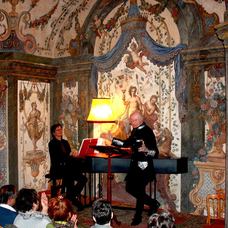 Mozart concert Arno Argos Raunig sopranist