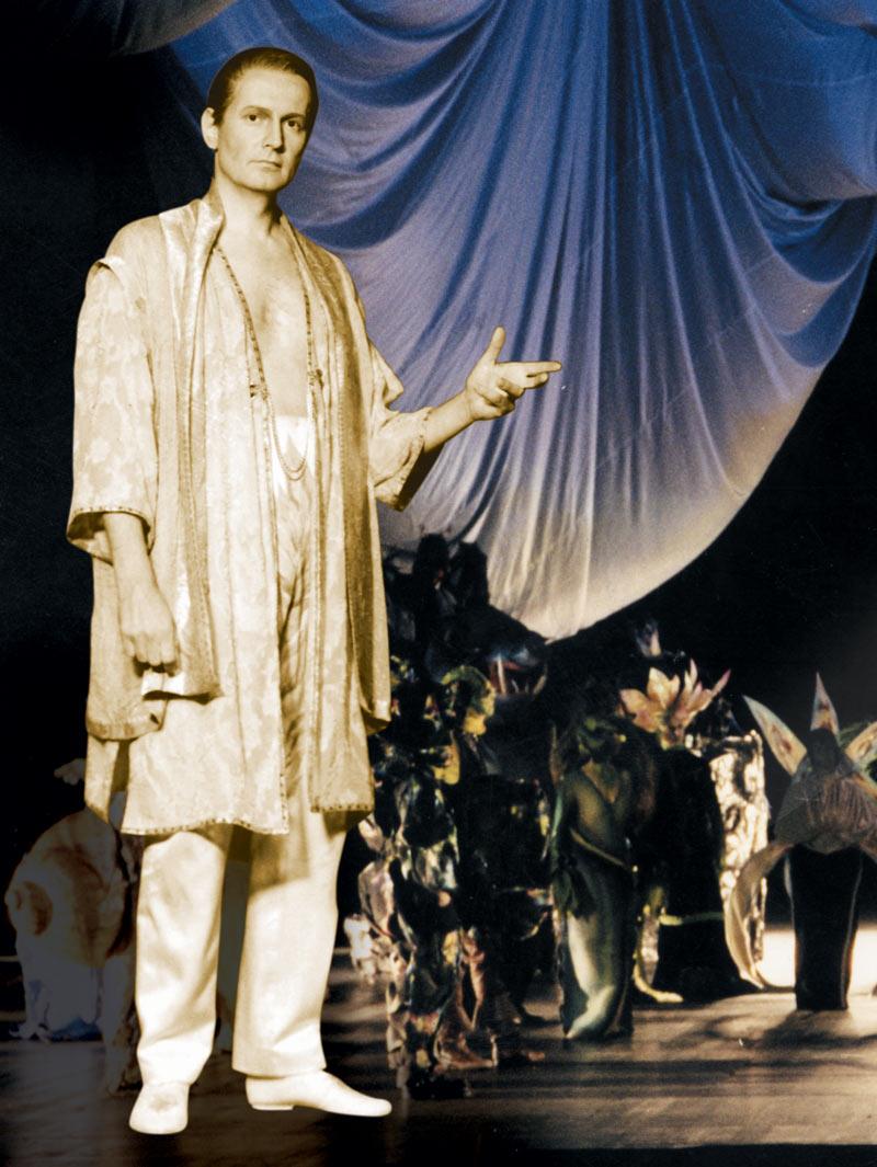 """Arno Argos Raunig Seinen Ruggiero erlebte ich dreimal in einer wunderbaren """"Alcina""""-Inszenierung in Darmstadt (incl. einem Gastspiel in Wiesbaden)"""