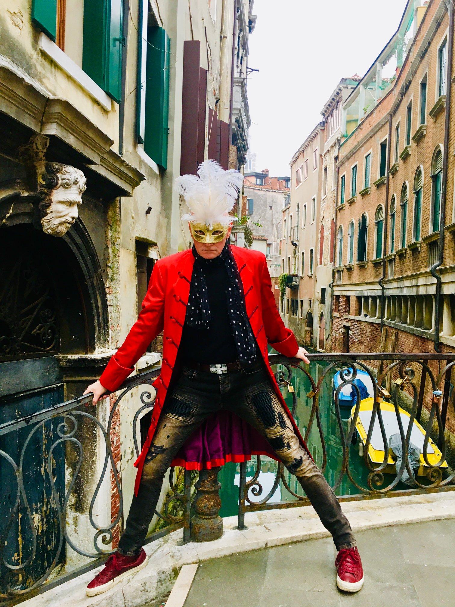 Arno Argos Raunig carnival Venezia 2019