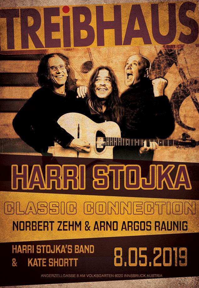 Treibhaus: Harri Stojka – Classic Connection mit Norbert Zehm & Arno Argos Raunig
