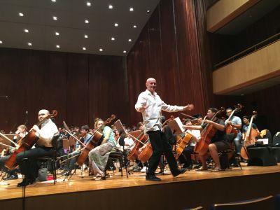 Bangkok Rehearsal 2016 Arno Argos Raunig Carmina Burana Carl Orff