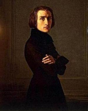 Liszt-Portrait Von Lehmann