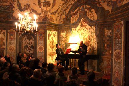 sopranist Arno Argos Raunig, Mozart's arias, concert