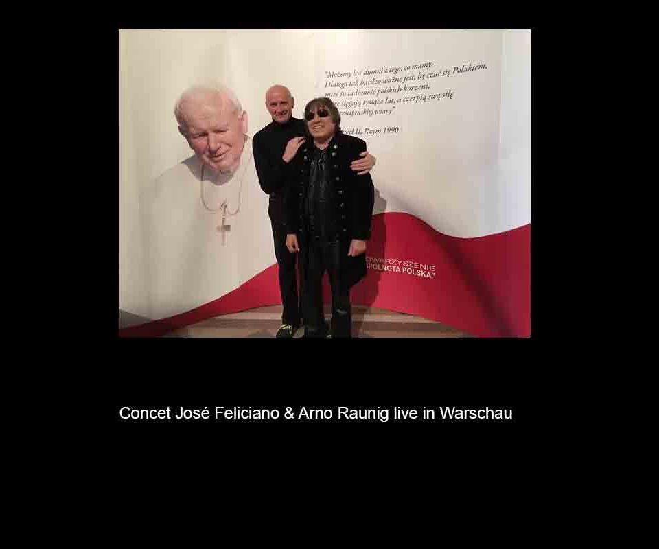 José Feliciano & Arno Raunig live in Warschau