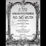 Konzert: Aus Zwei Welten 28.8.2016 in Wien