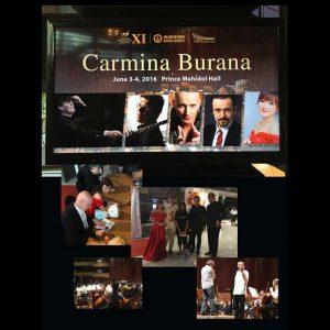 Exclusive photos from concert Carmina Burana