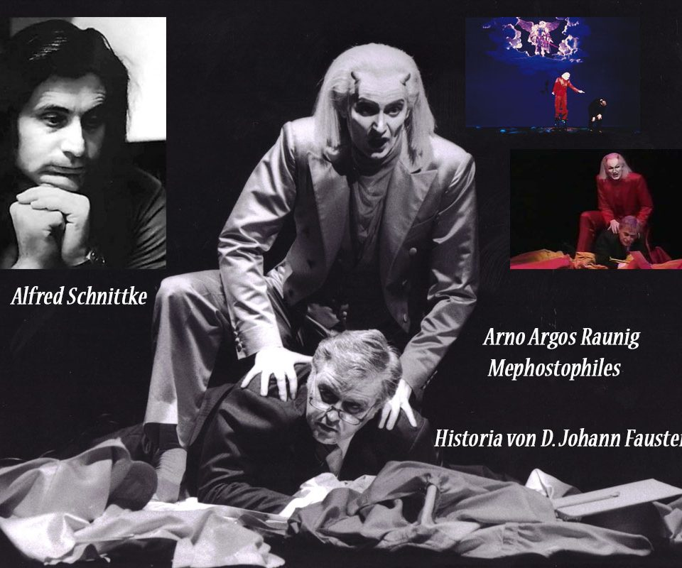 Schnittke A. Historia von D. Johann Fausten, World Premiere with Arno Argos Raunig