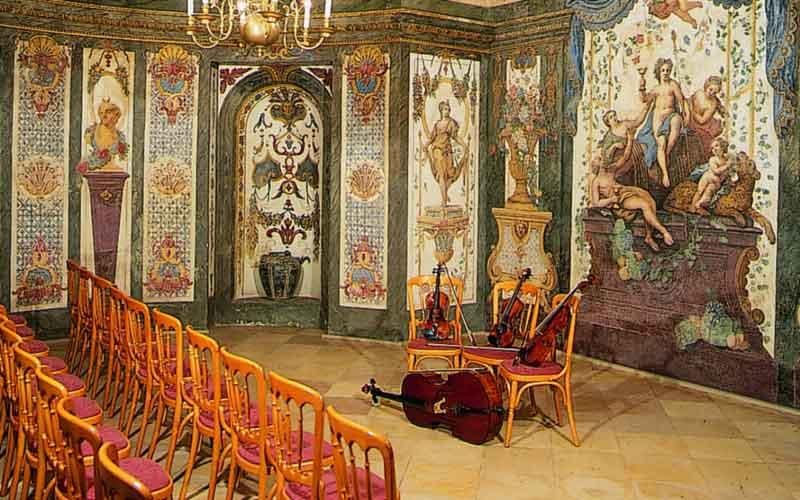 sala terrena Mozarthaus Vienna