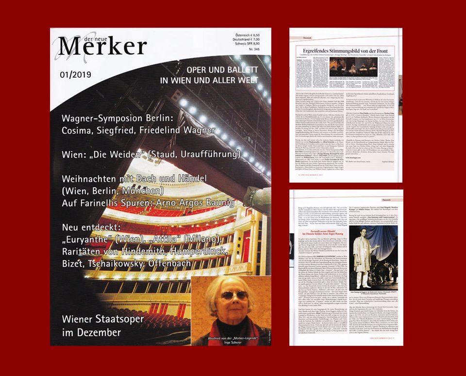 Auf Farinellis Spuren - Arno Argos Raunig (Merker 2019, interview)