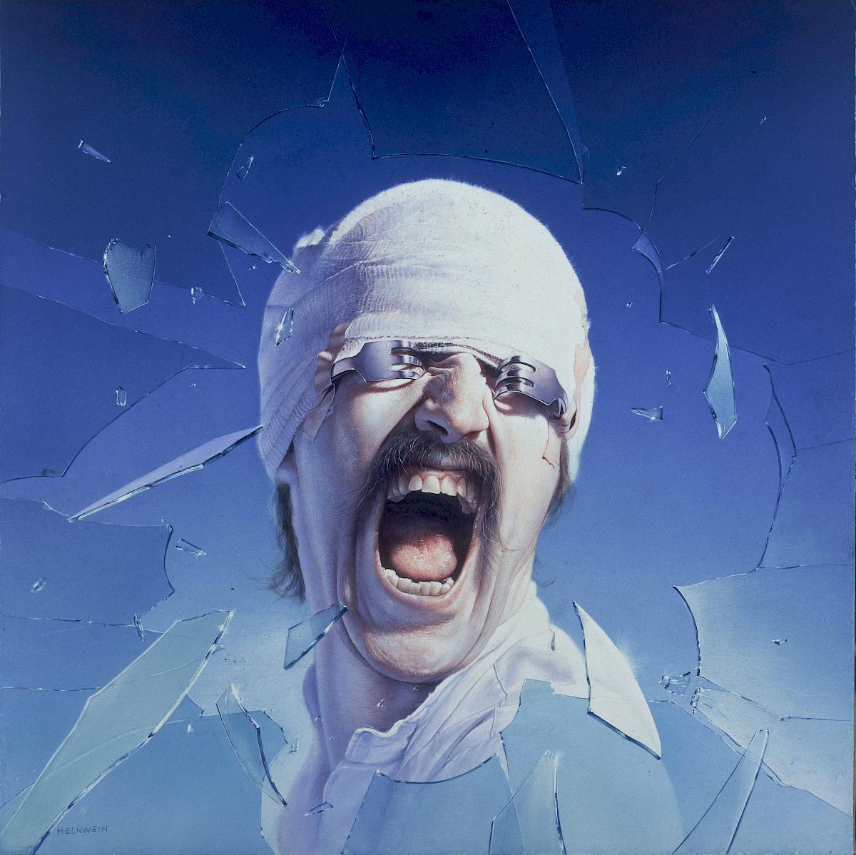 Gottfried Helnwein: Self-portrait Blackout