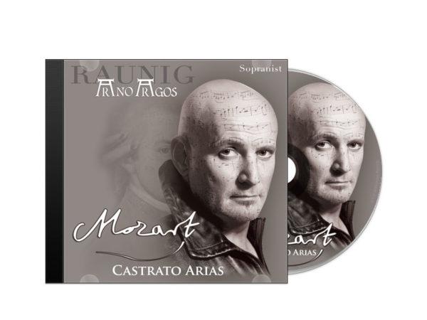 """""""Mozart - Castrato Arias"""" Arno Argos Raunig - Sopranist Paul Weigold - Dirigent (Symphony Orchestra Sofia)."""