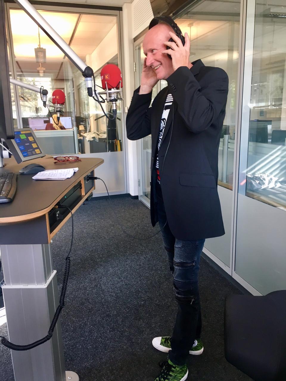 Mozart-CD Rarität - Interview mit Arno Argos Raunig von Vanessa Thun-Hohenstein, ORF Radio Kärnten, 2019, Live
